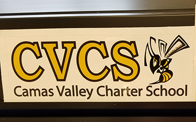 Camas Valley sticker
