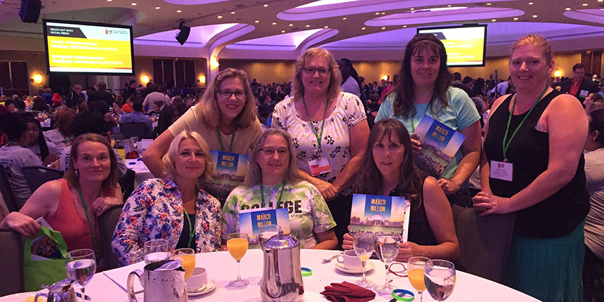 Educators at National Conference