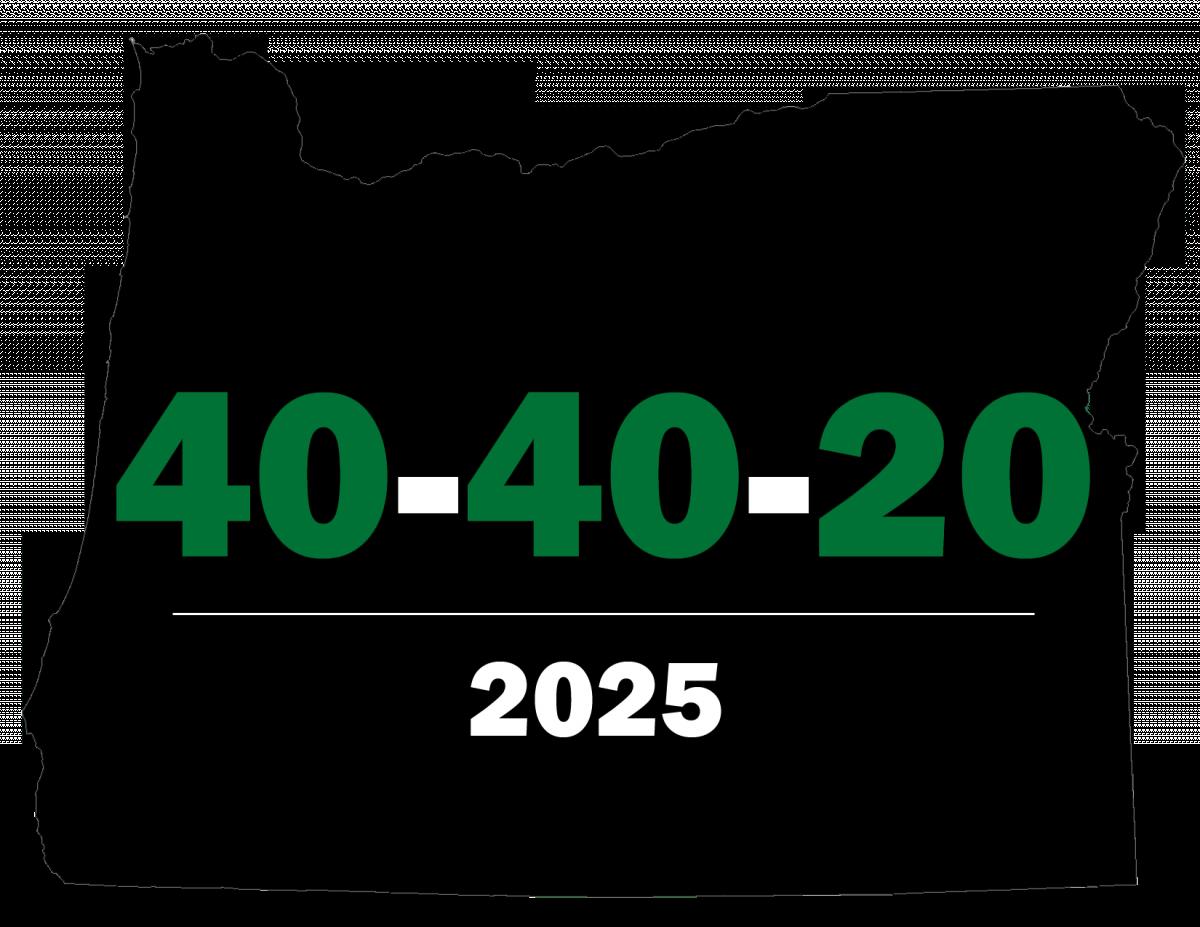 40-40-20 Oregon ...