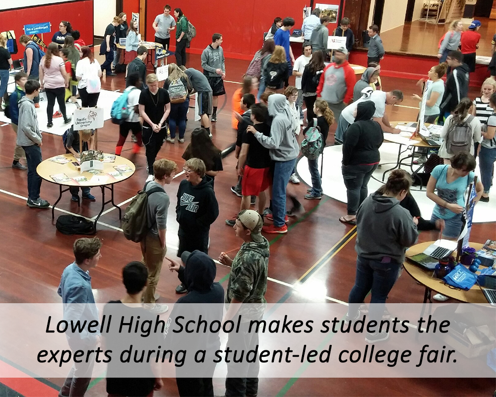 Lowell student-led college fair