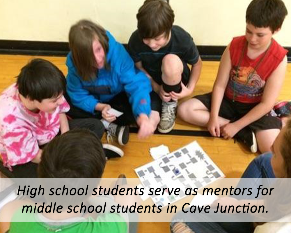 Mentoring in Cave Junction