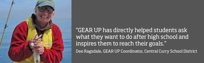 Educator Spotlight: Dee Ragsdale | Oregon GEAR UP | Oregon State